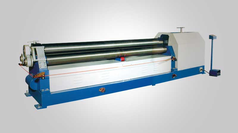 Al Lamsa Metals - 3 ROLLER BENDING MACHINE
