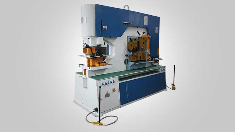 Al Lamsa Metals - COMBINED PUNCH AND SHEARING MACHINE
