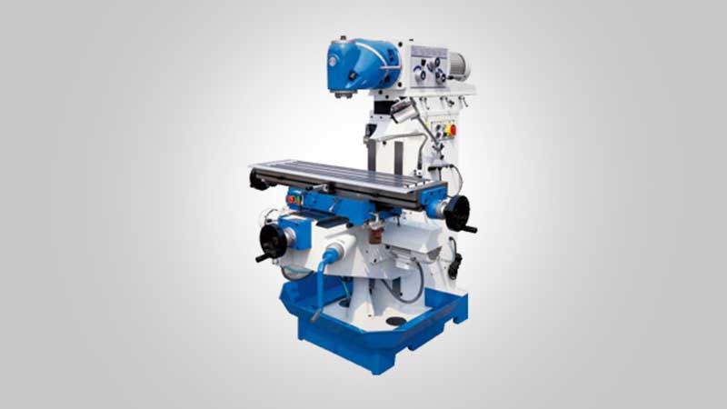 Al Lamsa Metals - UNIVERSAL SWIVED HEAD MILLING MACHINE